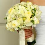 wedding flowers florist- My white wedding flo ...